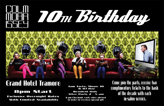 10th Birthday Poster Design